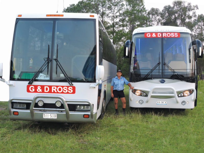 G&D Ross Bus — Tours in Maryborough QLD