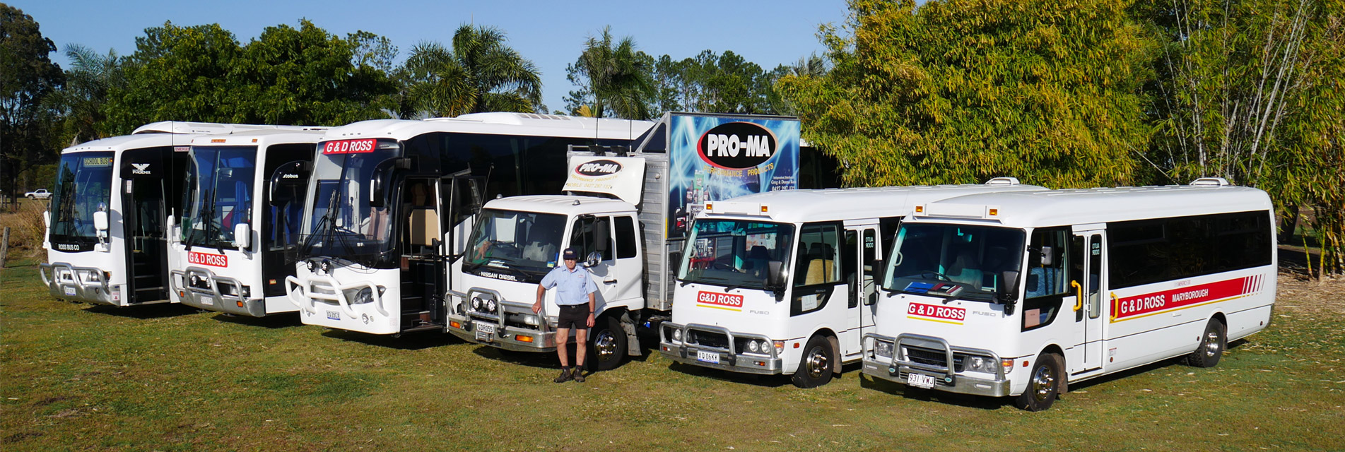 G&D Bus Tour Vehicles — Tours in Maryborough QLD