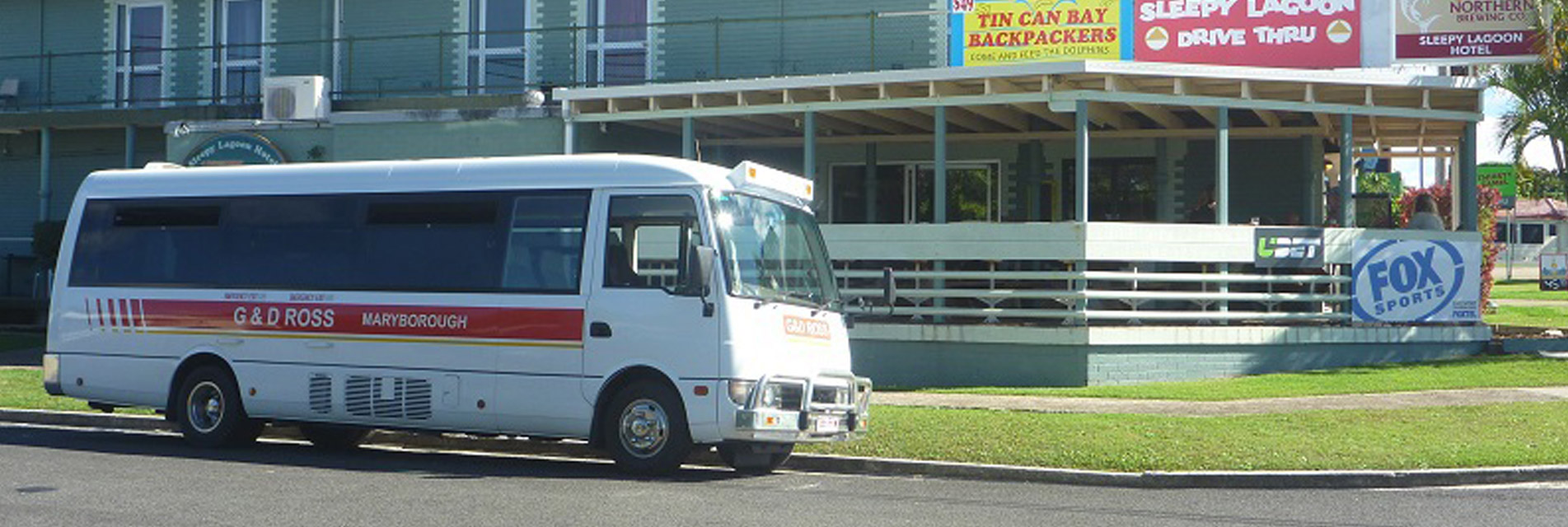 G&D Tours Bus — Tours in Maryborough QLD